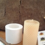 How to make a bee wax candle